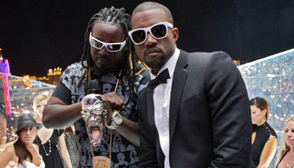 kanye and t pain