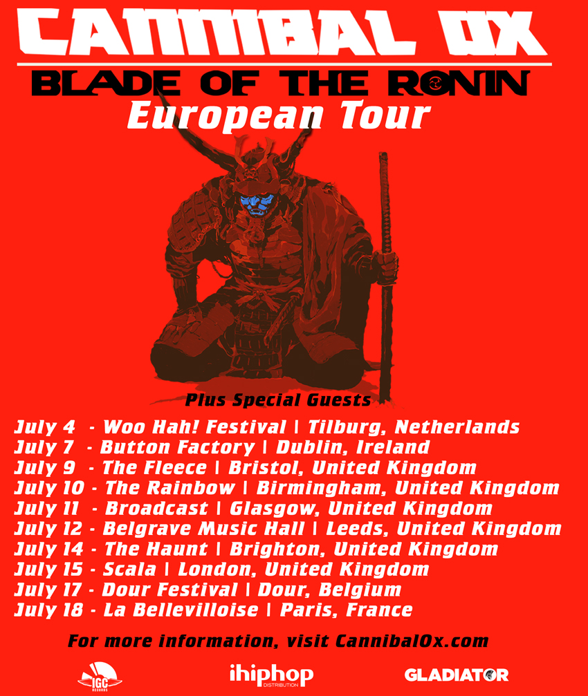 Can-Ox-Blade-Of-The-Ronin-European-Tour